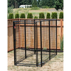 Lucky Dog Modular Kennel - 8'L x 4'W x 6'H