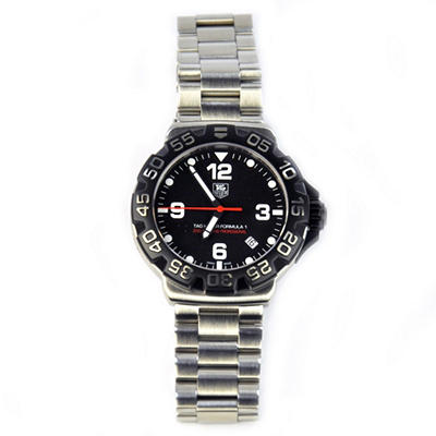 TAG Heuer Formula 1 Watch for Men with Black Face