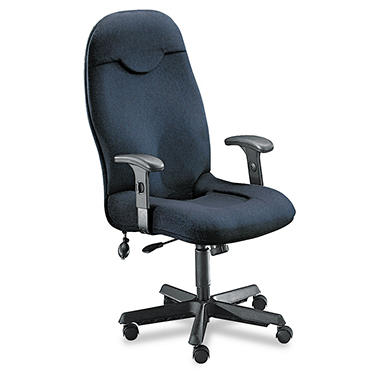 Mayline - Comfort Series Executive High-Back Chair - Gray Fabric