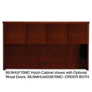 "Mayline 72"" Mira Series Veneer Assembled Hutch Frame, Select Color"