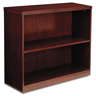 Mayline- Luminary Series 2-Shelf Bookcase - Cherry