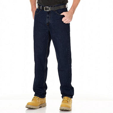 Member's Mark Relaxed Fit Dark Wash Blue Jeans