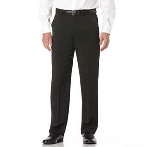 Savane Big&Tall Flat Front Expander Waist Dress Pants (Assorted Colors)
