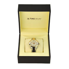 TAG Heuer Men's Carrera Two-Tone, White Dial