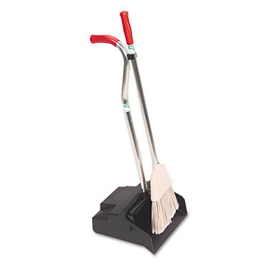 Unger Ergo Dust Pan with Broom