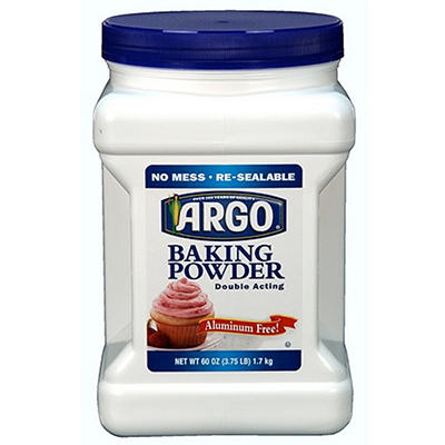 ARGO® Baking Powder - 60oz