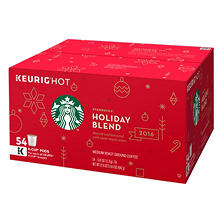 Starbucks Holiday 2016 Blend K-Cups (54 ct.)
