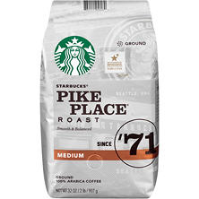 Starbucks Pike Place Roast Ground Coffee (32 oz.)