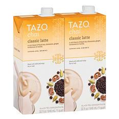 Tazo Chai Classic Latte Concentrate (32 oz. ea., 2 pk.)