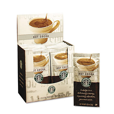 Starbucks® Gourmet Hot Cocoa - 24 pack