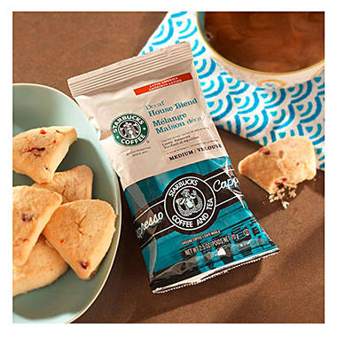 Starbucks Coffee Decaffeinated House Blend 2.5 oz. Portion Packs - 18 ct.