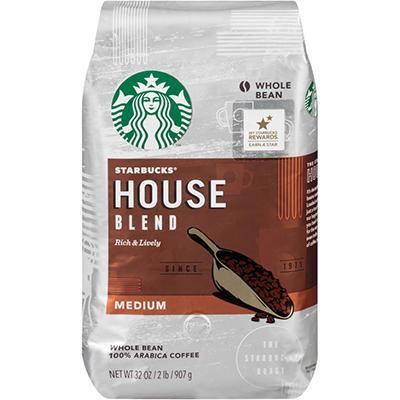 Starbucks House Blend Whole Bean - 2 lb.