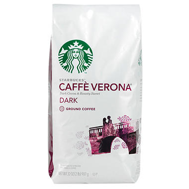 Starbucks Verona Ground Coffee - 2 lbs.