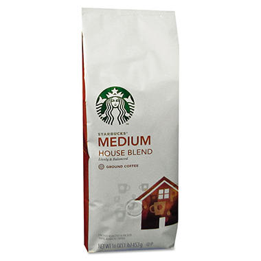 Starbucks Coffee House Blend - 1 lb