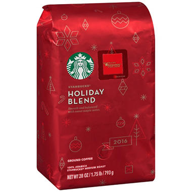 Starbucks Holiday Blend Ground Coffee - 28 oz.
