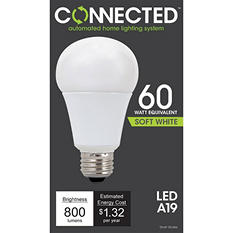 11 Watt Soft White LED A Lamp for Connected Lighting