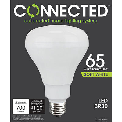 10 Watt Soft White BR30 Flood Light for Connected Lighting