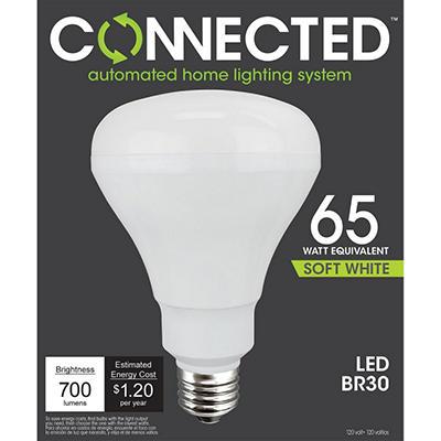 10 Watt Soft White BR30 Flood Light for Connected Lighting