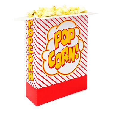 Popcorn Boxes - Large Scoop - 500 Boxes