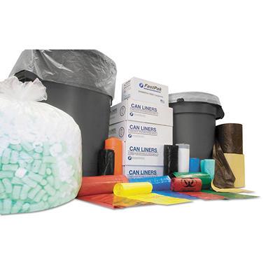 Coreless Interleaved Rolls 55-60 gal. Trash Bags (200 ct.)