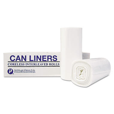 Coreless Interleaved Rolls 55 gal. Trash Bags (200 ct.)