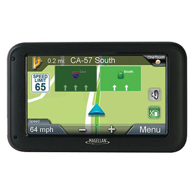 "Magellan RoadMate 5220LM 5"" GPS Device with Free Lifetime Map Updates"