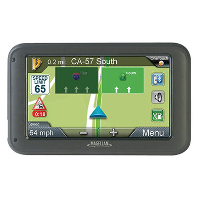 "Magellan RoadMate 5265TLMB 5"" GPS Device with Free Lifetime Map & Traffic Alert Updates"