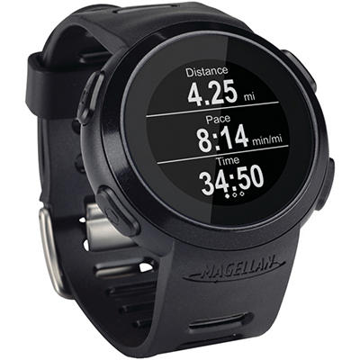 Magellan TW0100SGXNA Echo Fitness Watch (Black)