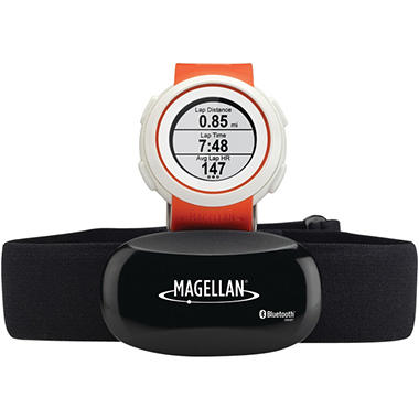 Magellan TW0102SGHNA Echo Fitness Watch with Heart Rate Monitor (Orange)