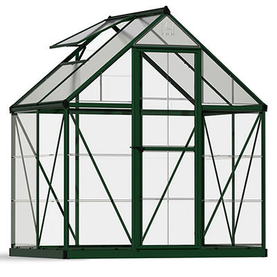 Palram Nature Hybrid 6' x 4' Greenhouse - Green