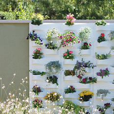 PlantScape Log Vertical Garden