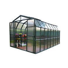 Grand Gardener 2 Twin Wall 8' x 16' Greenhouse