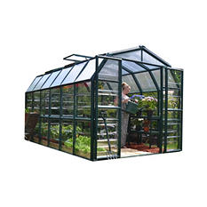 Grand Gardener 2 Clear 8' x 12' Greenhouse