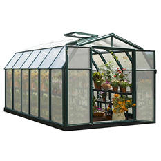 Hobby Gardener 2 Twin Wall 8' x 12' Greenhouse