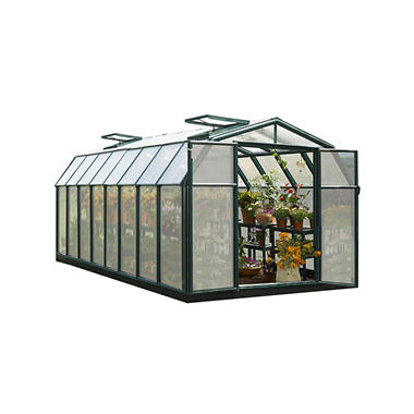 Hobby Gardener 2 Twin Wall 8' x 16' Greenhouse