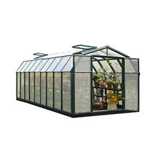 Hobby Gardener 2 Twin Wall 8' x 20' Greenhouse