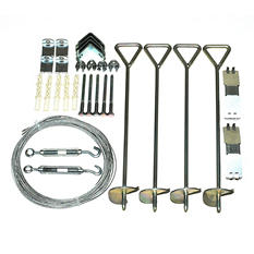 Palram Greenhouse Cable Anchor Kit