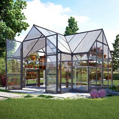 Palram Chalet Greenhouse Kit