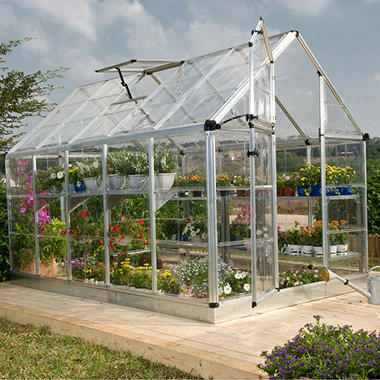 Snap & Grow  Greenhouse Kits with Silver Frame - 6 x 12