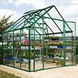 Snap & Grow 8' x 8' Greenhouse - Green