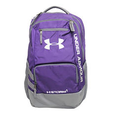 Under Armour Hustle II Backpack, Purple