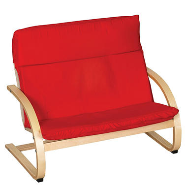 Children's Red Double Seat Comfort Chair