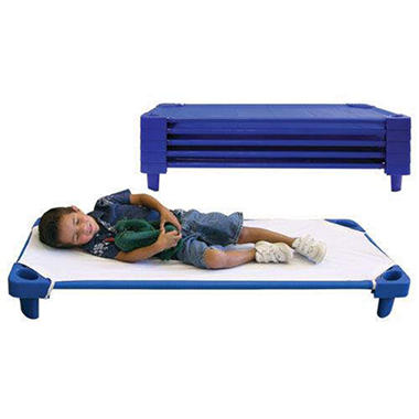 Stackable Toddler Cots - Unassembled - 5 pack