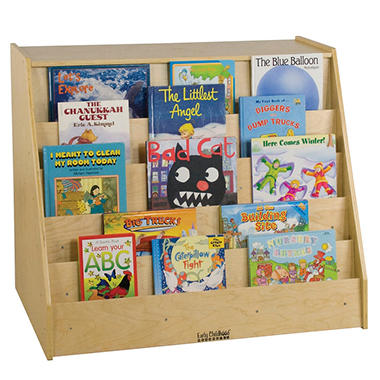 Mobile Book Display & Storage Unit