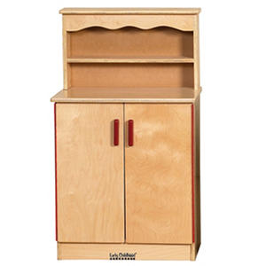 ECR4Kids Dramatic Play Wood Cupboard