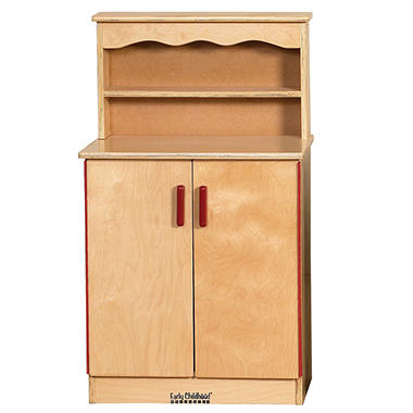 Dramatic Play Wood Cupboard