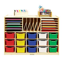 ECR4Kids Multi-Section Storage