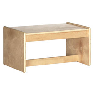 ECR4Kids Children's Coffee Table, Natural Finish