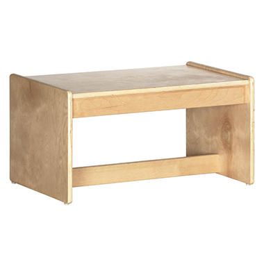 Children's Natural Finish Coffee Table