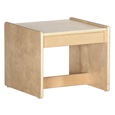 Children's Natural Finish End Table
